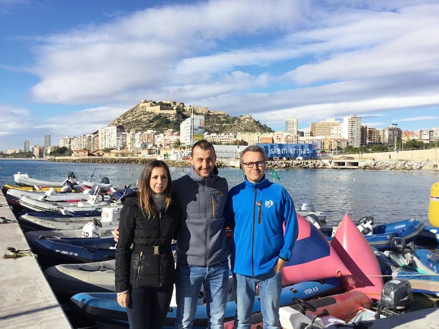 Mireia Ronda, Manuel Sanz y Sergio W. Smit