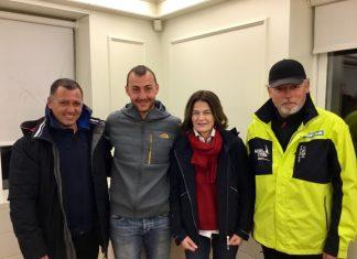 Asier Fernández, Manuel Sanz, Julia Casanueva y Miguel Sánchez