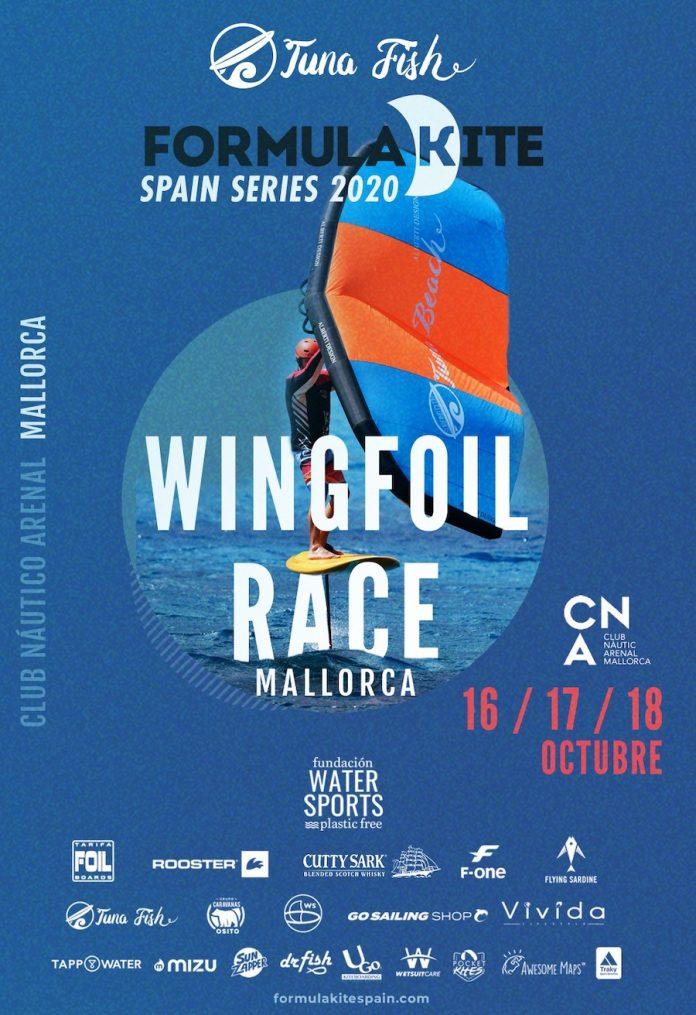 Cartel FKSS 2020 Mallorca - Wingfoil 900N